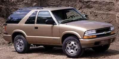 2001 Chevrolet Blazer LS (Dark Cherry Red Metallic)