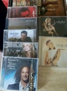 9 saxophone/jazz Cds..sold together 4$ for all