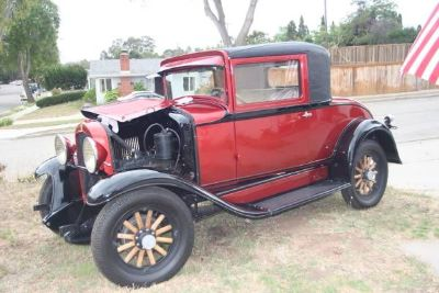 1930 Willys Whippet Coupe
