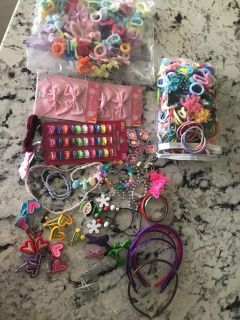 Toddler/Kids jewelry, headbands, hair clips, rings and more