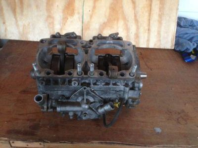 Sell Arctic Cat Firecat EFI Engine Crankcase F7 Sabercat 2003 04 05 06 07 motorcycle in Millville, Pennsylvania, US, for US $150.00