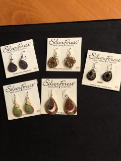 NWT earring group. Selling as lot. Rep samples Ppu