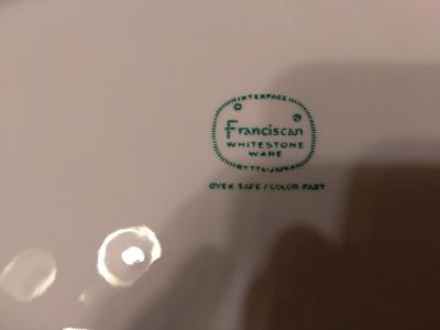 Franciscan serving tray