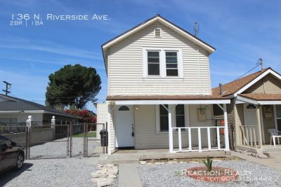 Charming 2/1 near Historic Downtown Rialto for Lease!
