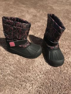Winter boots size 12