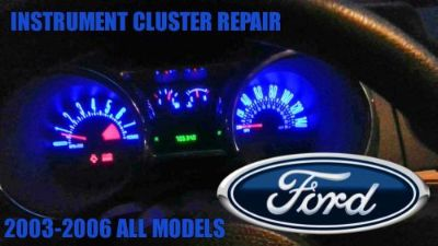 Buy INSTRUMENT CLUSTER REPAIR FORD Mustang 2003-2006 motorcycle in Rialto, California, United States, for US $65.99