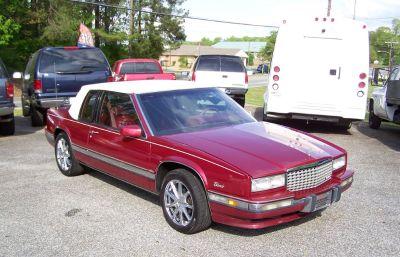 1991 Cadillac Eldorado Biarritz (Maroon Or Burgundy)