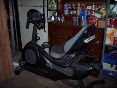 "$300 RECUMBENT BIKE Cybex CR 330, Used twice, just like ""just out of the box"""