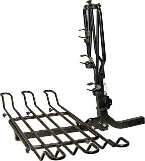 """Sell 3 BIKE SWING DOWN WHEEL BICYCLE CARRIER RACK-2"""" HITCH (BC-3581) motorcycle in West Bend, Wisconsin, US, for US $194.99"""