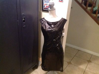 NWT My Michelle M Sequin Cocktail Party Holiday Prom Dress Medium Homecoming Prom Formal Gown