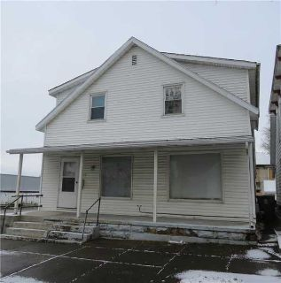 334 & 334-1/2 Grove Sidney Four BR, Well maintained double with
