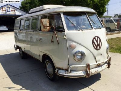 1967 VW pop top Westy