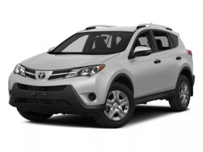 2015 Toyota RAV4 LE (Red)