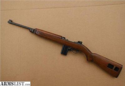 For Sale: M1 Carbine WW2 Quality HMC, rare high wood, USGI