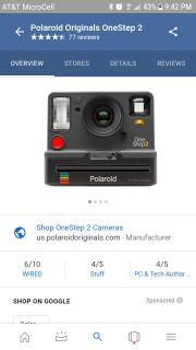 Looking for Polaroid One Step Cameras
