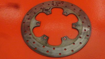 Sell 1999 BMW F650 F 650 F SERIES REAR BRAKE ROTOR 34212345314 motorcycle in Tampa, Florida, US, for US $151.24