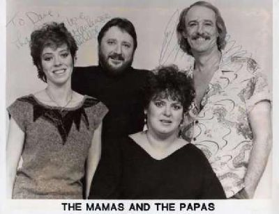 Mamas&Papas and Rascals original autographs