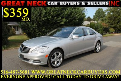Used 2013 Mercedes-Benz S-Class 4dr Sdn S550 4MATIC, 64,497 miles
