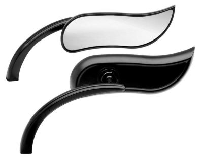 Purchase Arlen Ness Mirrors Upswept Black Harley Davidson motorcycle in Ashton, Illinois, US, for US $109.00