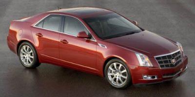 2008 Cadillac CTS 3.6L DI (White Diamond Pearl)
