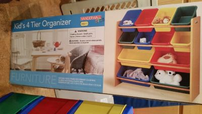 4 tier toy organizer