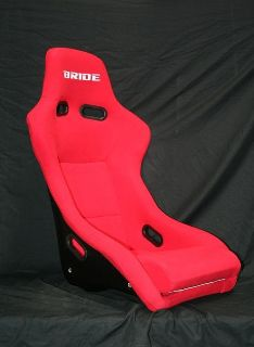 Purchase One Single BRIDE ZETA RED RACING SEAT black back motorcycle in Smyrna, Georgia, US, for US $270.00