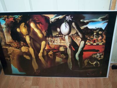 Large Salvador Dali Poster From 2000