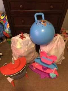 Large Lot of Child Toys
