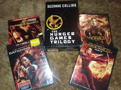 The Hunger Games Complete Set