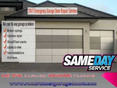 One of the leading Garage Door Repair Company in Katy, TX