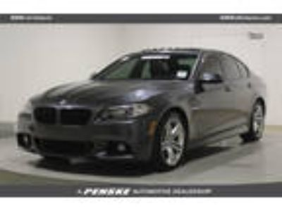Used 2016 BMW 5 Series GREY, 35.6K miles