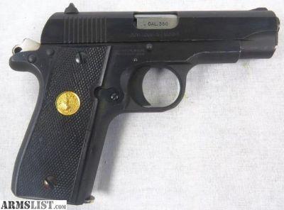 For Sale: Colt 380 Mark IV