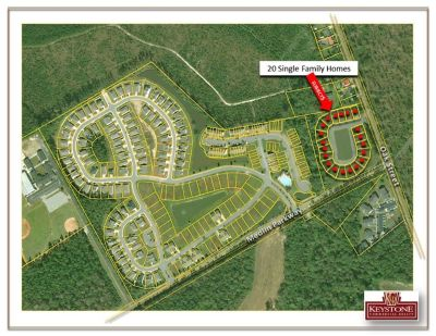 Midtown Village-20 Single Family Home Lots-5.75 Acre Tract-For Sale
