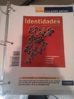 $50 OBO Identidades: Exploraciones e interconexiones (2nd Edition) Textbook