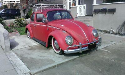 1963 VW Bug - Good Body, No Rust, Spare Parts Incl