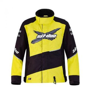 Find SKIDOO SKI DOO Can Am Men's X-Team Winter Jacket 4407050996 Yellow Large motorcycle in Anoka, Minnesota, United States, for US $225.99