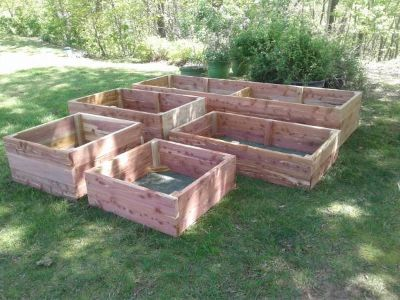 """Rock Solid"" Raised Garden Beds"