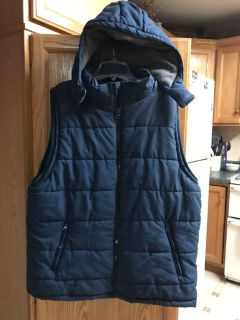 Puffer best with Hood