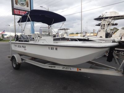 2005 Sea Pro S1850CC Skiff Saltwater Boats Holiday, FL