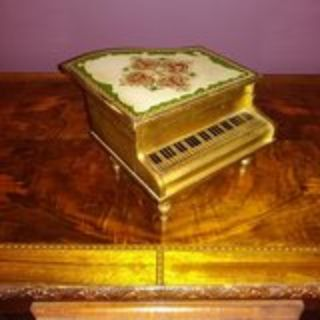 Grand Piano Musical Jewelry Box