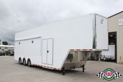 2019 inTech 38' Gooseneck Stacker Trailer