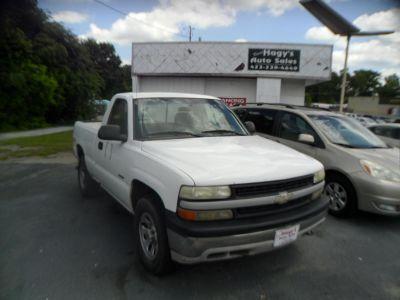 2000 Chevrolet Silverado 1500 Base (WHITE)