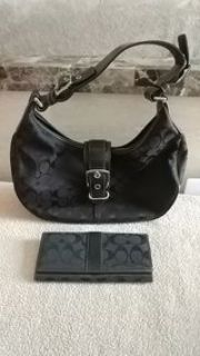 small-med size Coach bag&wallet