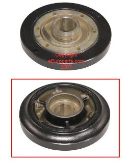 Purchase NEW Genuine SAAB Vibration Damper (crank pulley) 30585298 motorcycle in Windsor, Connecticut, US, for US $181.37