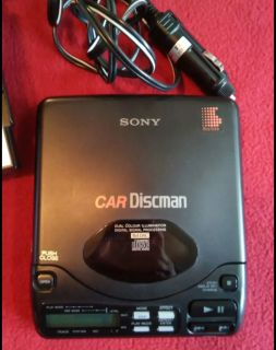 Sony Car Discman with case