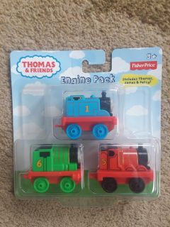 NEW Thomas the Train Engine pack
