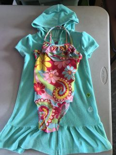 5t Swimsuit and Cover up