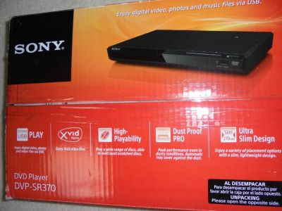 DVD PLAYER SONY (NEW)