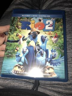 Rio 2 Blu Ray and dvd $4