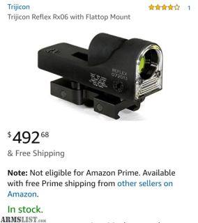 For Trade: Trijicon Reflex optic